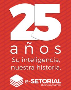 e-Setorial 22 Años. Su inteligencia, nuestra historia.